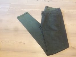 Pantalon taille basse vert foncé-kaki