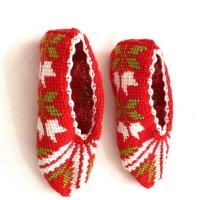 Handmade Écharpe à franges multicolore