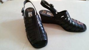 Gabor Sandalias de tiras azul oscuro Cuero