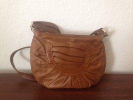 Schöne kleine braune Vintage-Handtasche