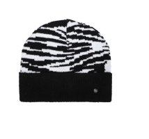 Codello Sombrero de punto negro-blanco