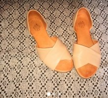 Apple of eden Strapped Sandals nude
