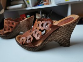 Outdoor Sandals brown leather