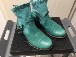 Think! Slip-on Booties mint leather