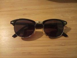 Okulary retro czarny