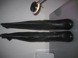 schöne schwarze Stefanel-Stiefel, sehr weiches Leder