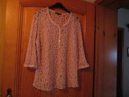 Bonita Blusa a tunica rosa pallido Poliestere