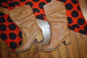 BSB Collection Laarzen met hak bruin