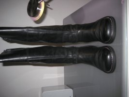 Kickers Plateauzool Laarzen zwart
