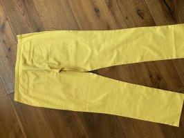 Hallhuber Jersey Pants yellow