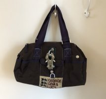 George Gina & Lucy Shoulder Bag dark brown-dark violet