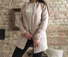 Jaqueline de Yong Short Coat rose-gold-coloured-white