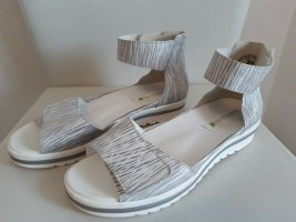 Waldläufer Sandalias cómodas color plata Cuero