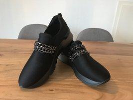 Deichmann Instapsneakers zwart