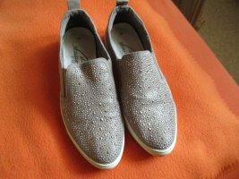Schöner bequemer Bonita Schuh Leder mit Steinchen besetzt!