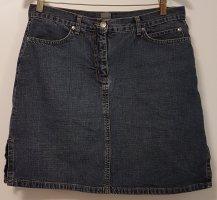 Schöner, blauer Jeans Rock (40) von Montego