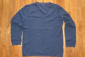 Schöner blauer Strickpullover von Tommy Hilfiger - kaum getragen