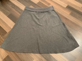 Cartoon Knitted Skirt grey-anthracite