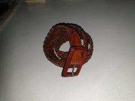 Cintura intrecciata marrone