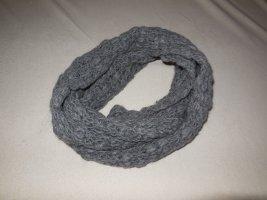 C&A Sciarpa lavorata a maglia antracite