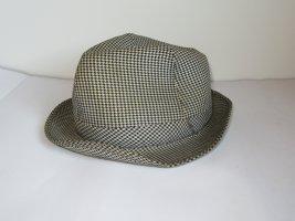 schöner Hut true Vintage karriert Retro
