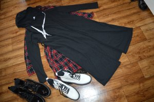 H&M Divided Hooded Coat black