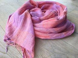 Schöner Leinen Schal