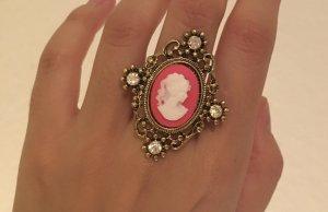 Pierścionek dla par różowy neonowy