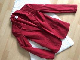 Vero Moda Blazer in jersey rosso scuro