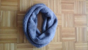 Woolen Scarf silver-colored wool