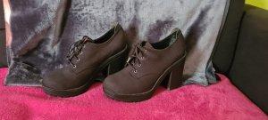 H&M Platform Boots black