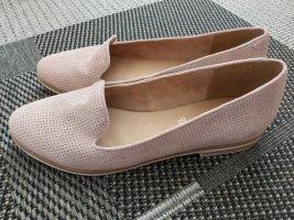 Schöner Schuh ~ echtes rosa Leder ~ Gr. 41-41,5