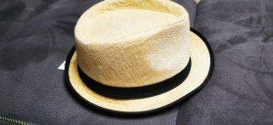 Chapeau de paille multicolore