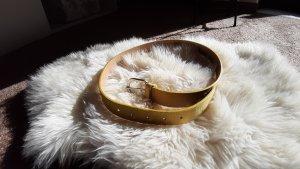 Hip Belt yellow leather