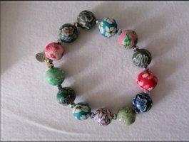 Bracelet raspberry-red-dark blue