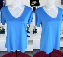 Nike Sports Shirt blue-neon blue