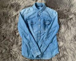 Tally Weijl Bluzka jeansowa Wielokolorowy Bawełna