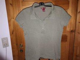 H&M L.O.G.G. Camiseta tipo polo caqui Algodón