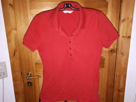 Uniqlo Camiseta tipo polo rojo