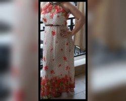 Airisa Letnia sukienka Wielokolorowy
