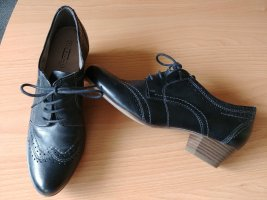 5th Avenue Zapatos brogue negro