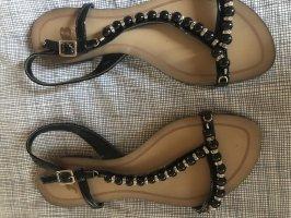 4 you Sandales confort noir