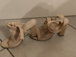10 Days High Heel Sandal cream-beige