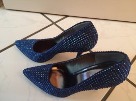 Catwalk Pointed Toe Pumps blue