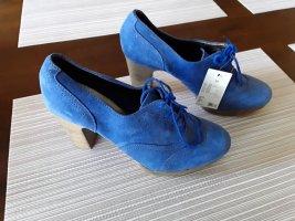 Edc Esprit Lace-up Pumps blue