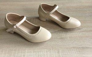 Scarpa Mary Jane beige chiaro