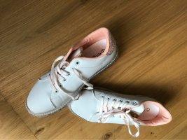 Enjoin' Chaussure skate blanc-abricot