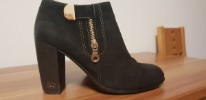 Mooni Chaussures Mary Jane noir cuir