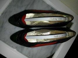 Schuhe aus Schlangenleder- Gr.7,5 - Handgearbeitet aus Hongkong