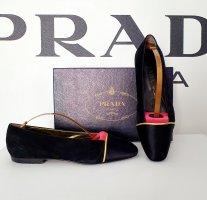 Schuhe Ballerinas von Prada Milano gr. 37,5